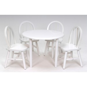 Kid's Dining Suite 2424 - WHITE