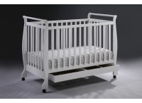 Cot Bed I WC1004 (WHITE)
