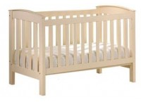Wooden Crib I WC1006 (CREAM)