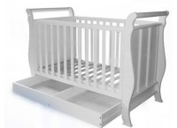 Baby Cot I WC1008 (WHITE)