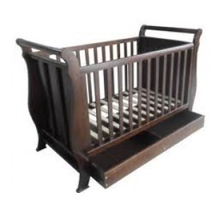 Cot Bed I WC1008 (BROWN)